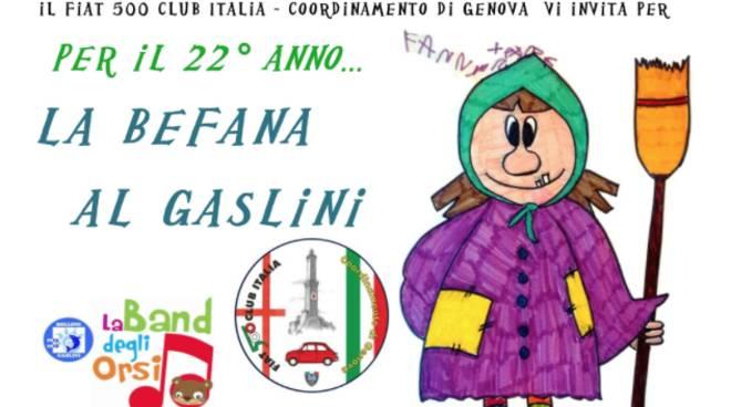 Befana Gaslini 2019 Fiat 500