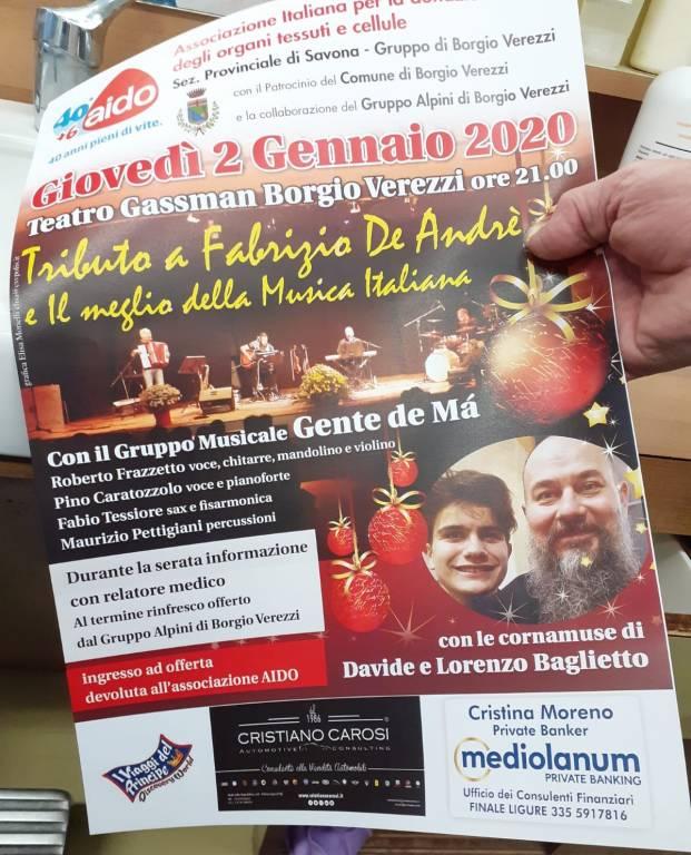 Borgio Verezzi Teatro Gassman serata AIDO