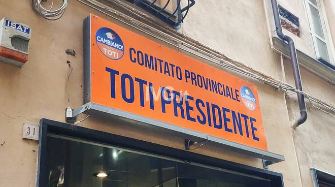 Cambiamo Point Savona Vaccarezza Toti