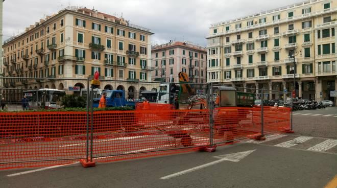 Cantiere Piazza Mameli Savona