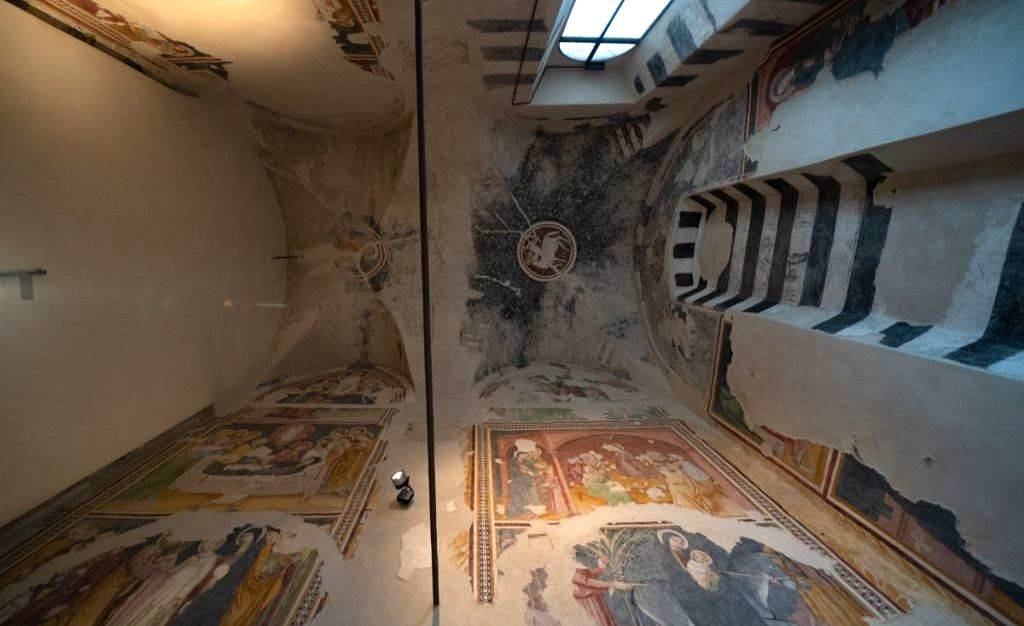 Affreschi Cappella Oliveri e Chiostri Santa Caterina Finale Ligure