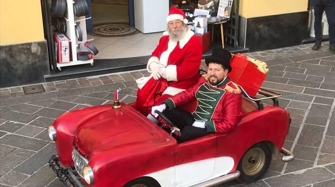 Babbo Natale incontra i bambini al Winter Park