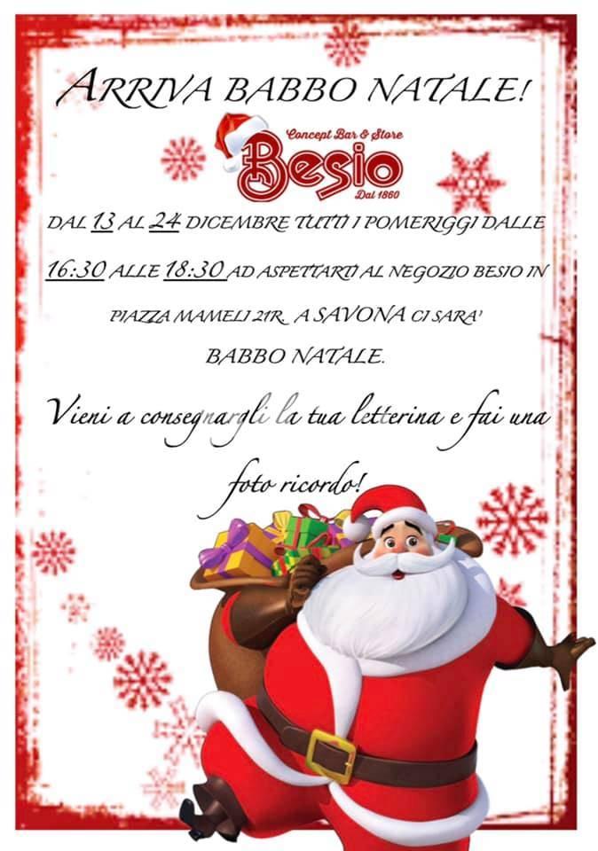 Babbo Natale arriva a Savona!