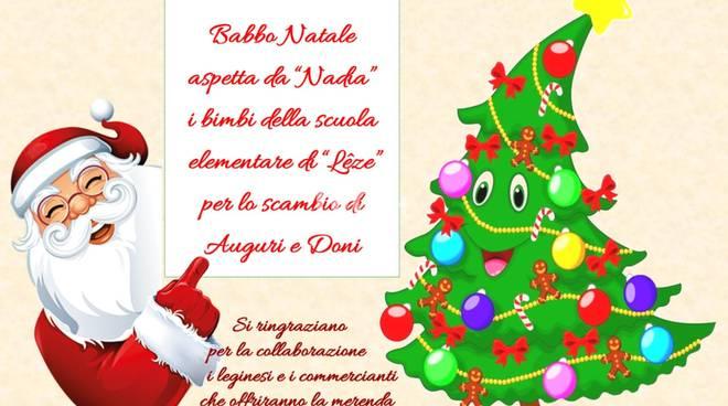 Legino (Savona): al via i festeggiamenti del Natale