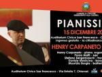 """A Chiavari sabato l\'anteprima di """"Pianissimo"""", il nuovo album di Henry Carpaneto"""