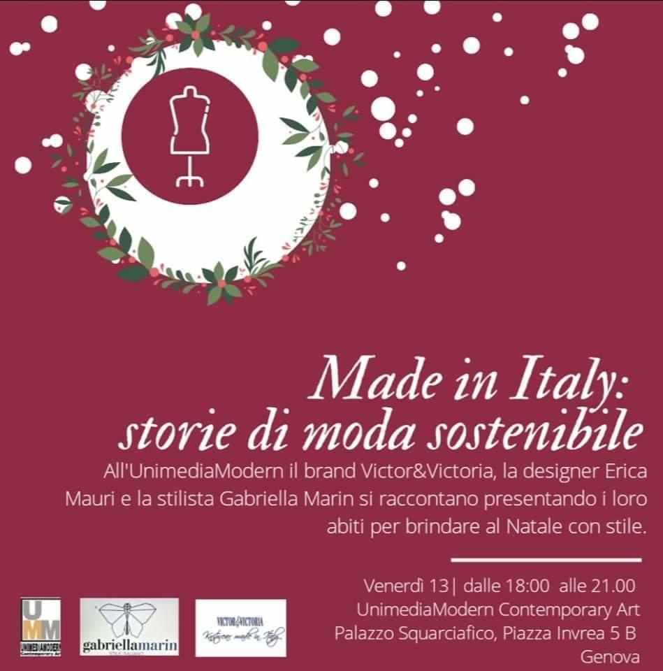 Made in Italy: storie di moda sostenibile