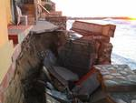 Case a rischio per la mareggiata a  Varigotti