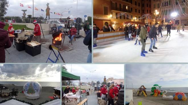 Christmas Beach Village Bagni Santa Caterina Varazze
