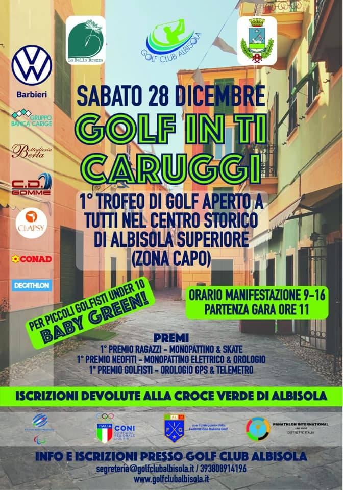 """""""Christmas Golf in tu caruggiu"""" 2019 Albisola Superiore"""