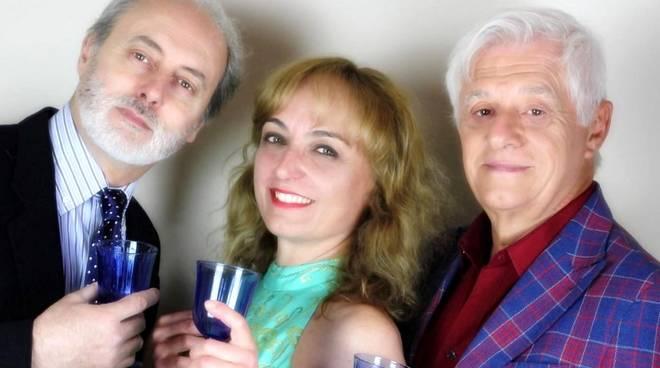 """""""Cocktail per tre"""" Miriam Mesturino, Franco Oppini e Marco Belocchi Borgio Verezzi Teatro Gassman"""