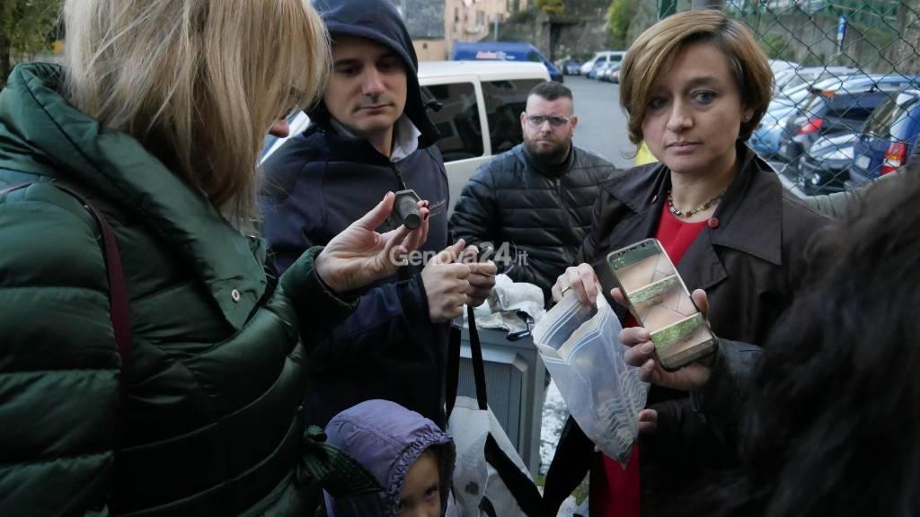 Comitato Gavette sotto Viadotto Bisagno Elena Botto
