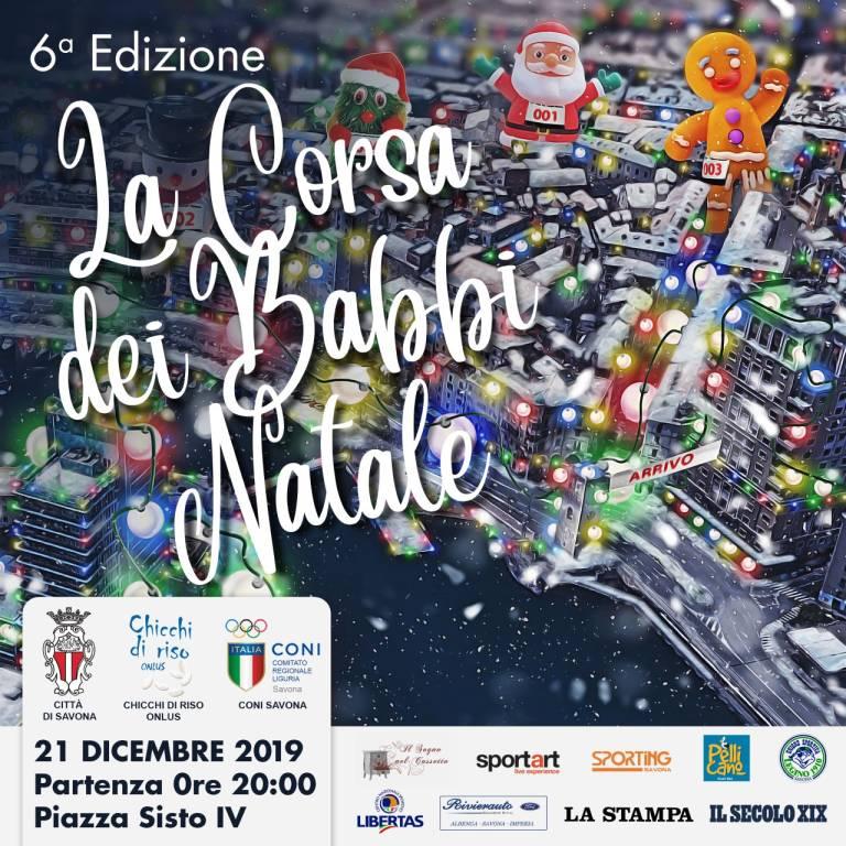 Corsa Babbi Natale Savona 2019
