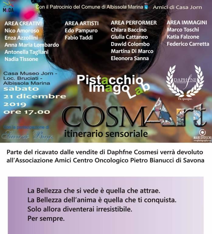 """""""COSMArt"""" Albissola Marina Casa Jorn"""