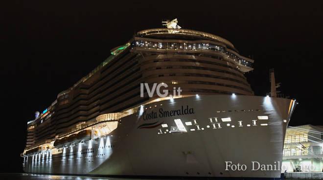 Debutta Costa Smeralda, la prima nave a gas naturale
