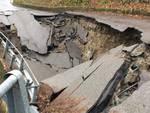 Crollo strada Propata Caprile