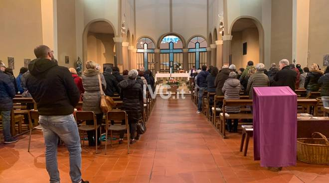 Funerali Alessandro Saba Savona