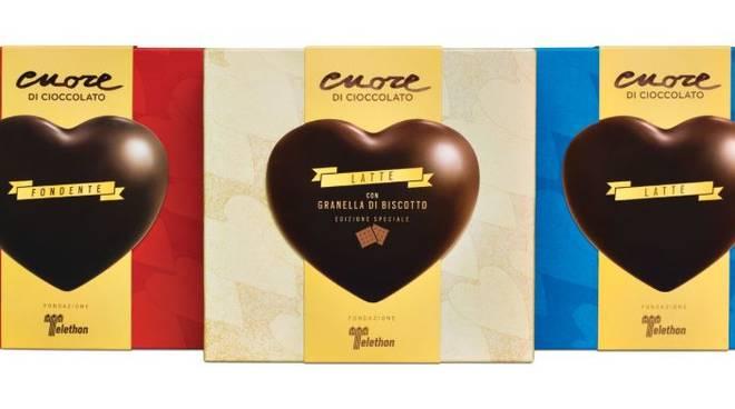 Cuori Cioccolato Telethon 2019