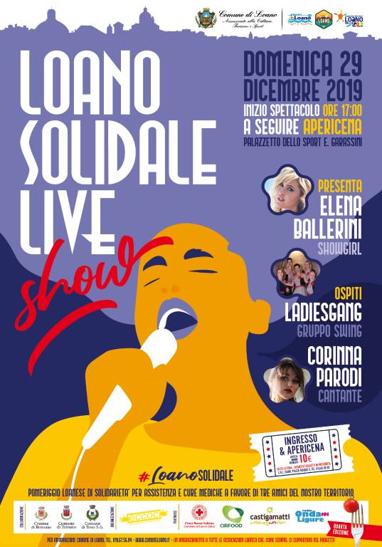Loano Solidale Live Show 2019
