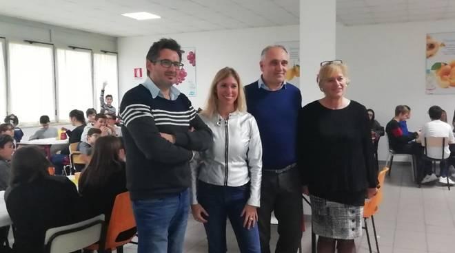 Simona Poggi e Maurizio Garbarini istituto Albisola