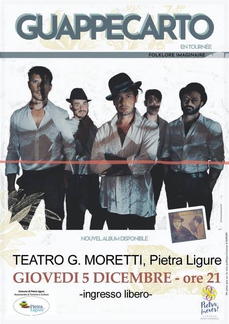 Guappecaertò concerto quintetto Pietra Ligure