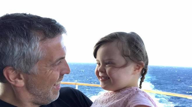 Guido Marangoni e figlia Anna