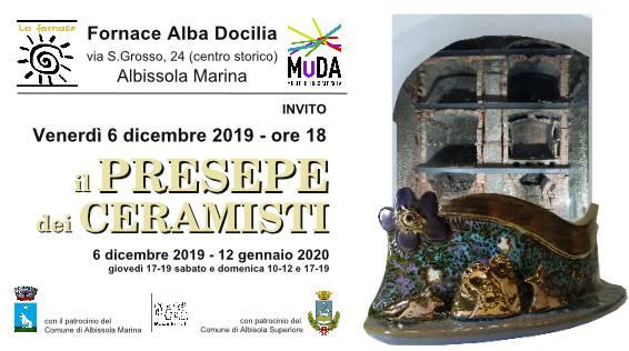 """I presepi dei ceramisti"" mostra Fornace Alba Docilia Albissola Marina"