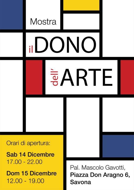 """""""il Dono dell'Arte"""" mostra benefica Savona Legino"""