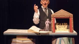 """""""Il fu Mattia Pascal"""" Giovanni Mongiano Borgio Verezzi Teatro Gassman"""