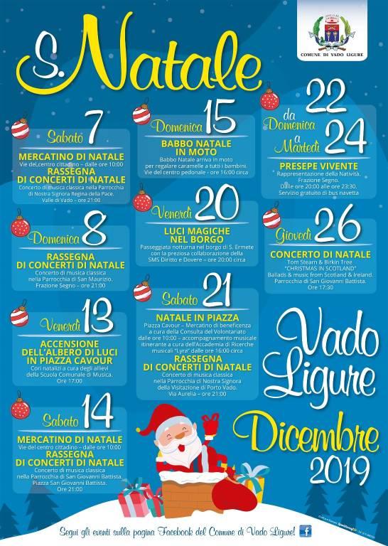 Natale 2019 Vado Ligure
