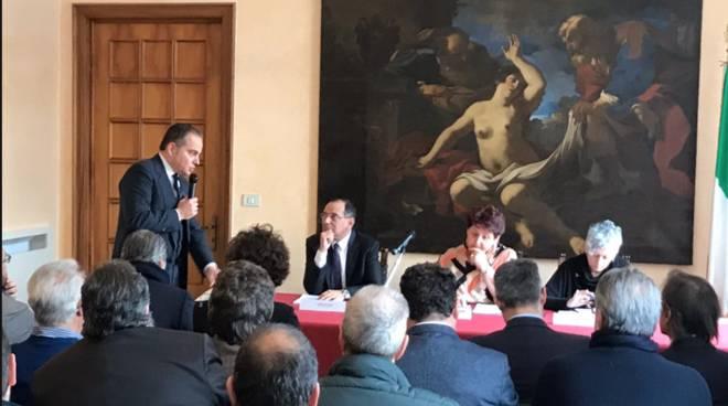 Il ministro Teresa Bellanova in visita a Savona