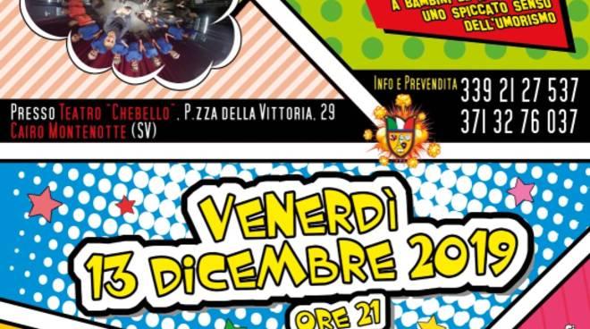 """""""Il Vostro Musical"""" 2019 Teatro Chebello Cairo Montenotte"""