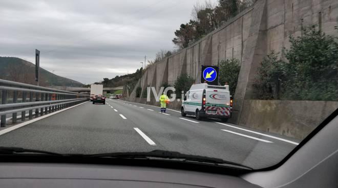 Incidente autostrada Spotorno