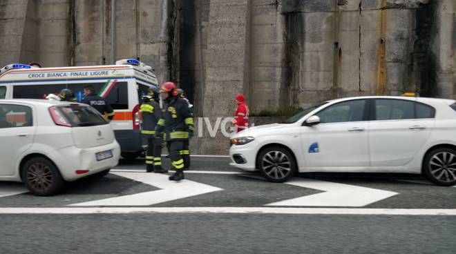 Incidente autostrada Spotorno