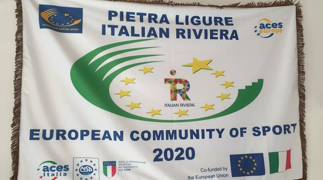 Italian Riviera comunità europea dello sporto 2020
