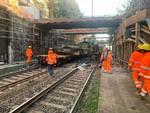 lavori sovrappasso ferroviario via martiri della libertà