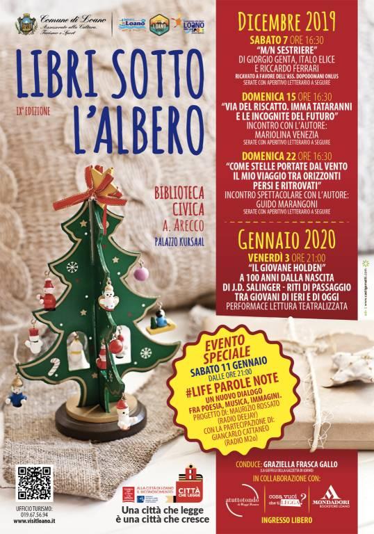 Libri sotto l'Albero 2019 Loano