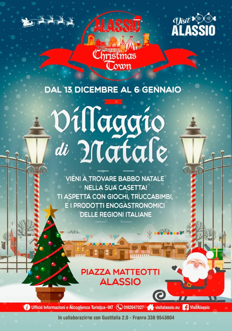 Villaggio di Natale Alassio 2019