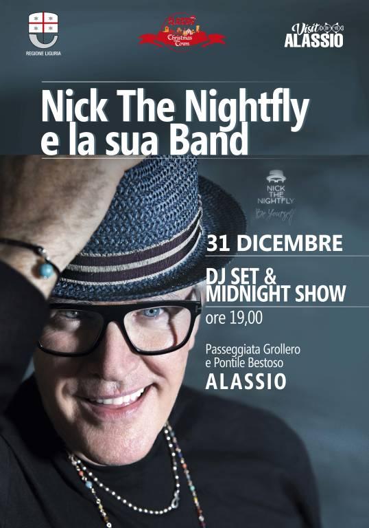 """""""Midnight Show"""" con Nick The Nightfy Ultimo dell'Anno 2019 Alassio"""