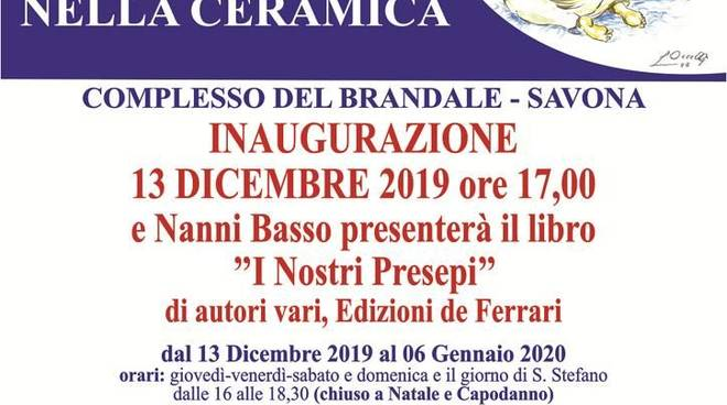 Mostra del Presepe d'Arte nella Ceramica 2019 Savona