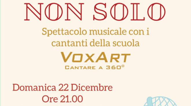 """""""Natale Ma non solo"""" concerto allievi VoxArt Albenga"""