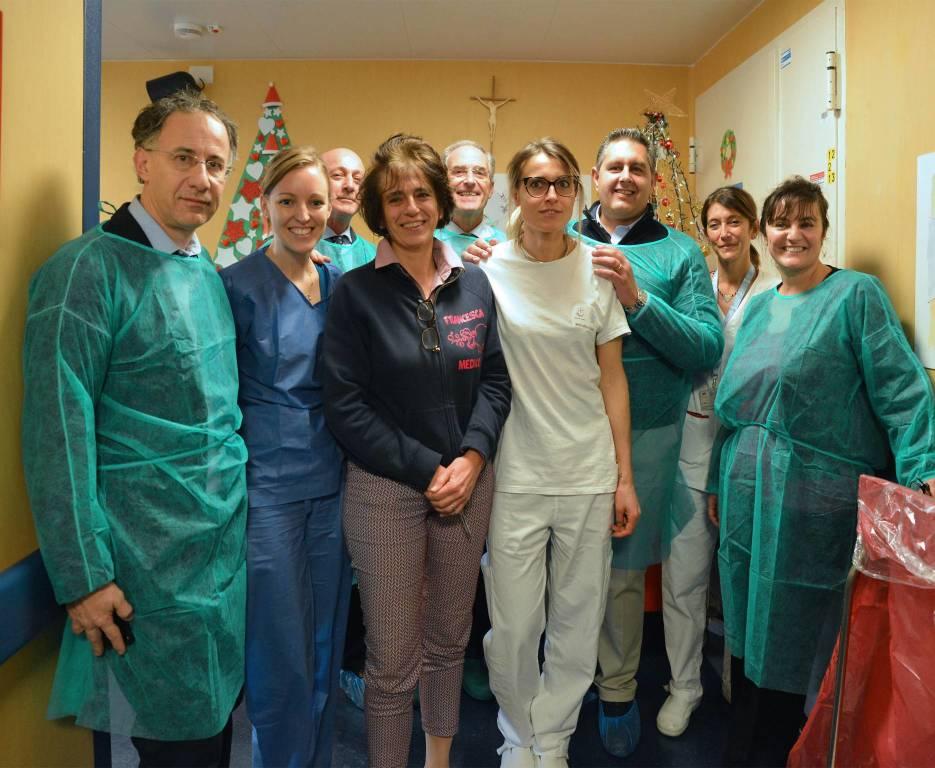 Onorificenza all'equipe del Gaslini che ha ricostruito il cuore a una bambina