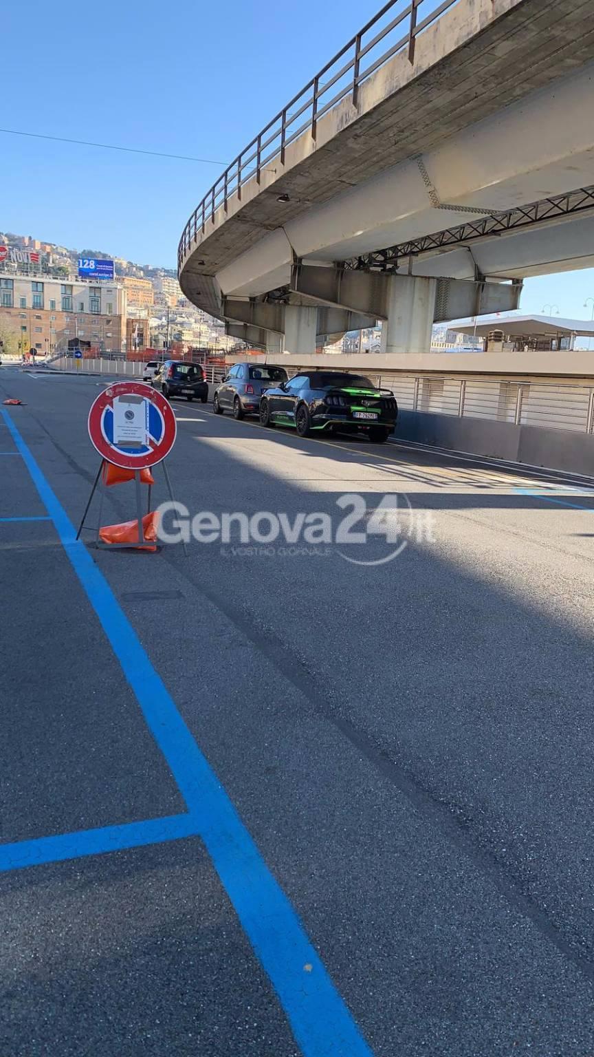 parcheggio buozzi chiuso per tifosi