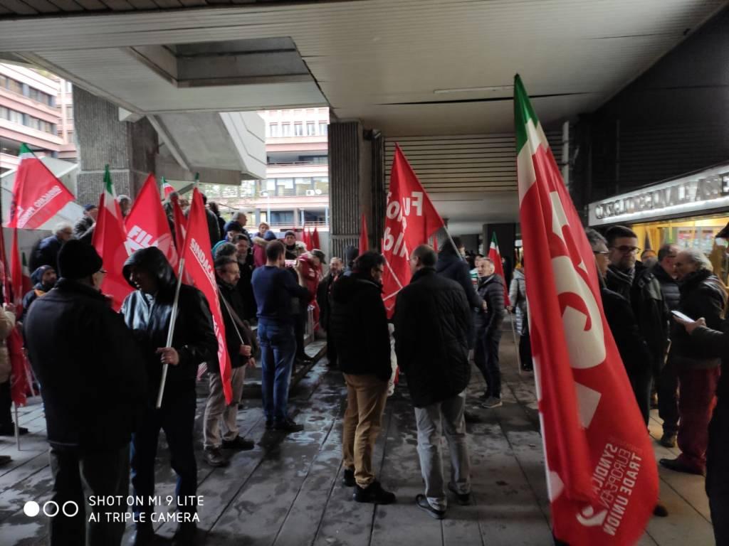 protesta sindacati sanità