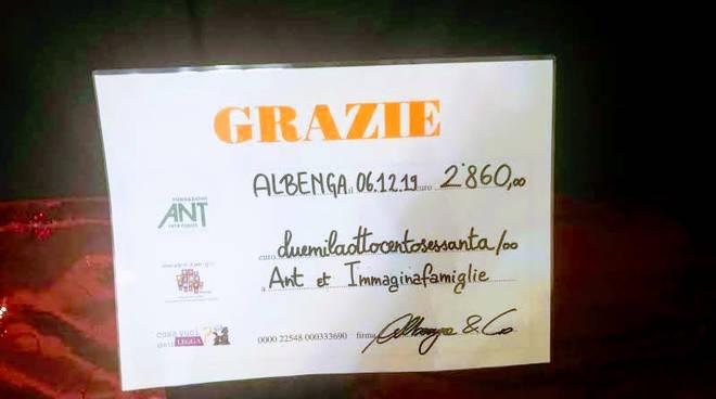 Sale d'attesa spettacolo Albenga
