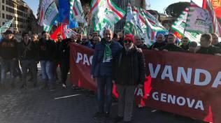 Sanac arcelor Mittal sciopero protesta Roma