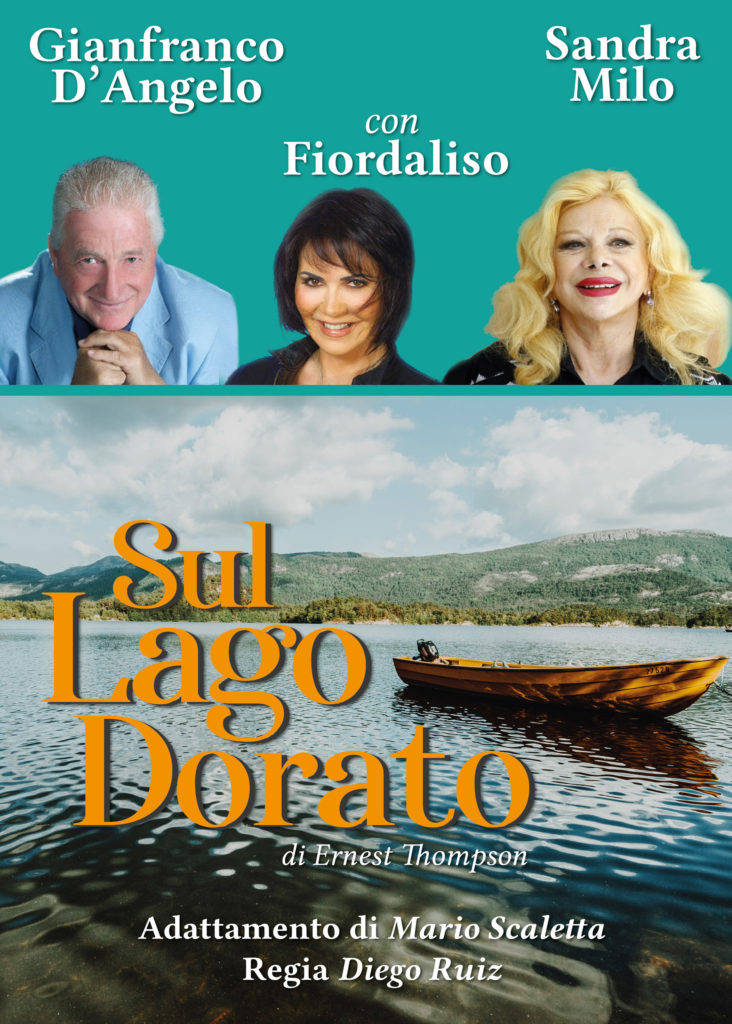 """Sul Lago Dorato"" Gianfranco D'Angelo, Sandra Milo e Fiordaliso Borgio Verezzi Teatro Gassman"