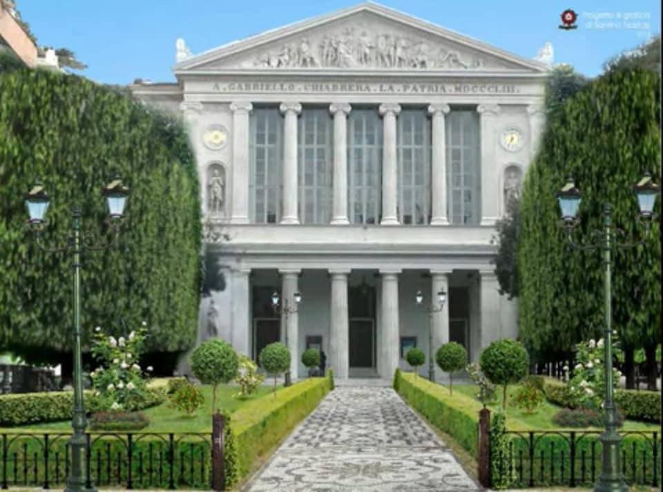 teatro chiabrera ipotesi verde giardino savona