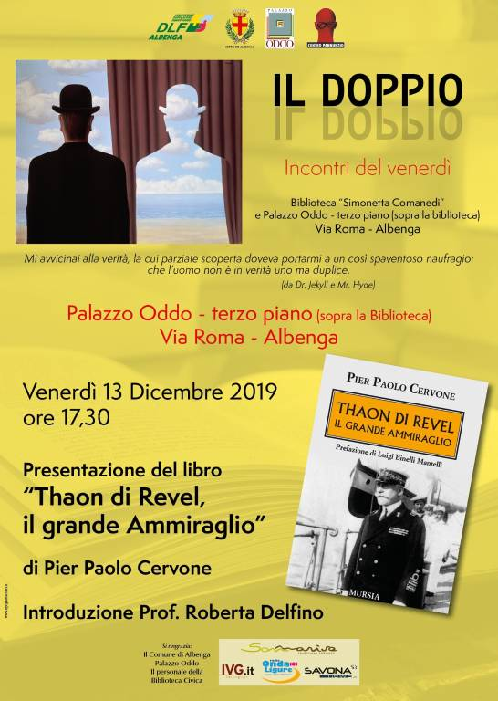 """""""Thaon di Revel, il Grande Ammiraglio"""" libro Pier Paolo Cervone Albenga"""