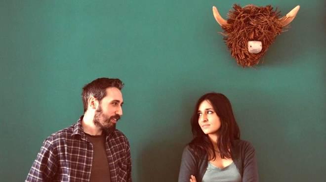 Tom Stearn e Laura Torterolo cantante Birkin Tree