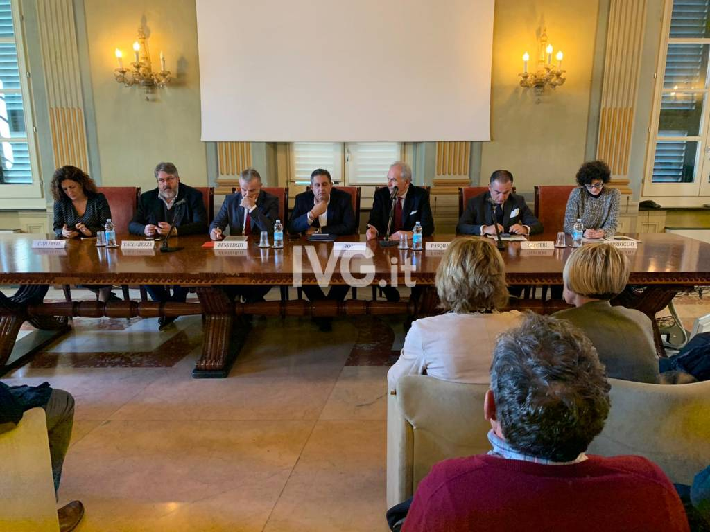 Toti a Savona: incontro con categorie economiche